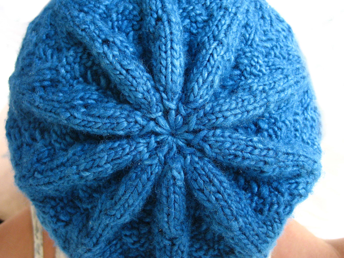 Nordic Lace Hat Knitting Pattern