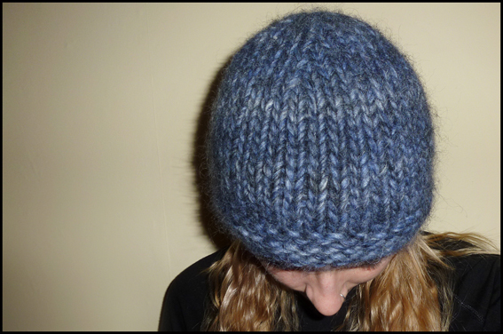 Free Hat Knitting Patterns Straight Needles : Venice - A Free Chunky Hat Knitting Pattern