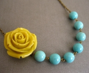 Yellow_Rose_Necklace