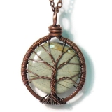sageANDindie tree pendant - etsy favourite