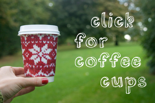 Fair Isle Takeaway Cups Available Now!