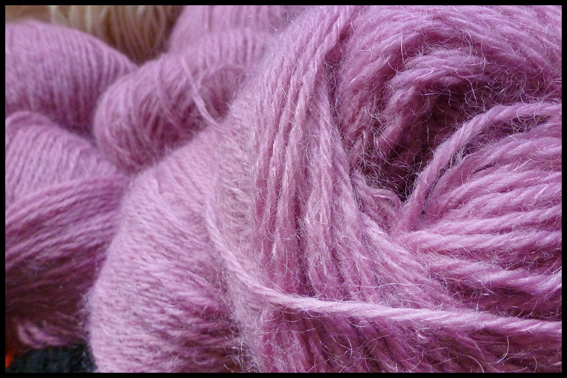 Rowan Kid Classic Rose © Buttons and Beeswax Knitting Blog