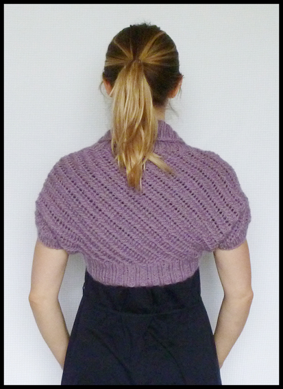 Heather - Lace Bolero Shrug Knitting Pattern