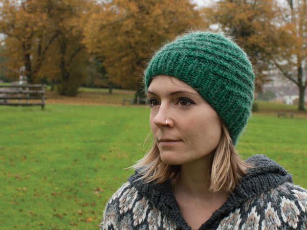 New Pattern Release The Corkscrew Beanie For Grown Ups